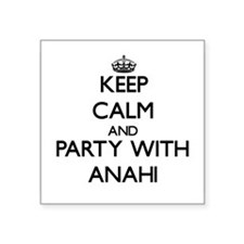 Keep Calm and Party with Anahi Sticker
