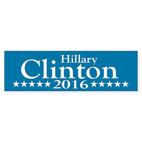 Hillary Clinton 2016 Bumper Sticker