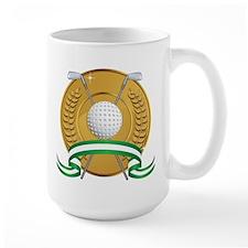 Golf Emblem Mugs