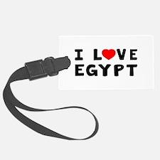 I Love Egypt Luggage Tag