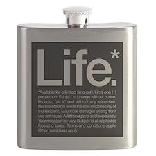 Life Disclaimer Flask