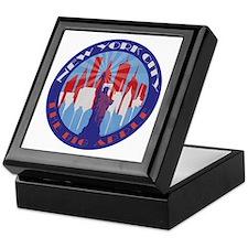 NYC Big Apple patriot Keepsake Box