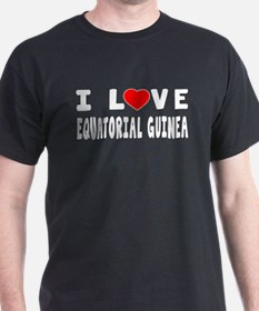 I Love Equatorial Guinea T-Shirt