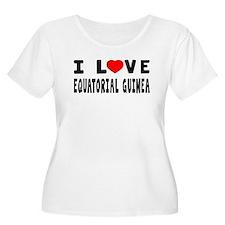 I Love Equatorial Guinea T-Shirt