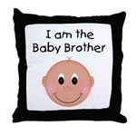 Baby Brother Throw Pillow