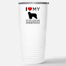 I Love My Dog Polish Lowland Sheep Dog Stainless S