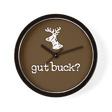 gut buck? Wall Clock