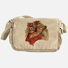 A Lovely Holiday Messenger Bag