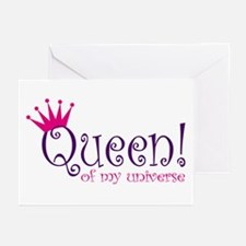Queen of my Universe Greeting Cards (Pk of 10)