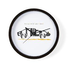 Anthony black car Wall Clock