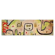 Klee Insula Dulcamara Bumper Sticker