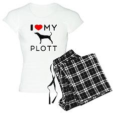 I Love My Dog Plott Pajamas