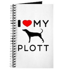 I Love My Dog Plott Journal