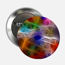 "Fractal Rainbow 2.25"" Button"