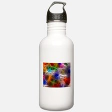 Fractal Rainbow Water Bottle