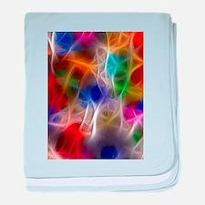 Fractal Rainbow2 baby blanket