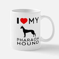 I Love My Pharaoh Hound Mug