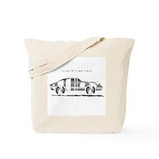 Anthony metal car Tote Bag