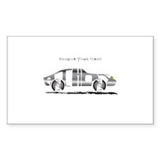 Anthony metal car Rectangle Decal