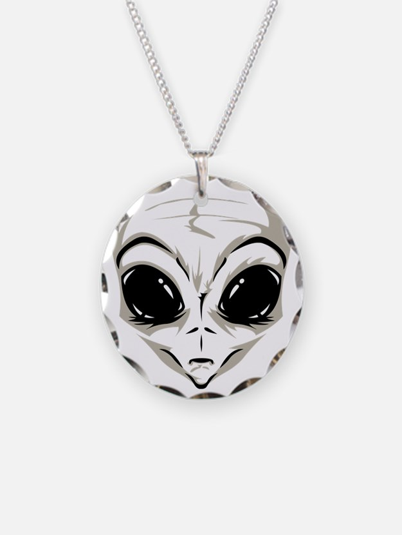 Lucky7's Alien Head Necklace