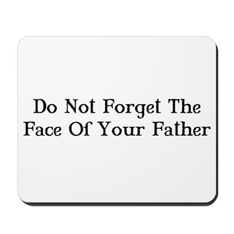 Face of Your Father/Dark Tower Mousepad
