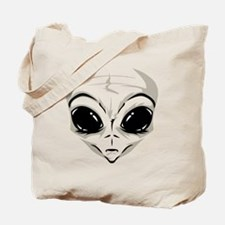 Lucky7's Alien Head Tote Bag