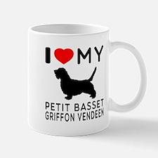 I Love My Petit Basset Griffon Vendeen Mug