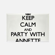 Keep Calm and Party with Annette Magnets