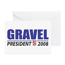 Gravel 2008 Greeting Cards (Pk of 10)