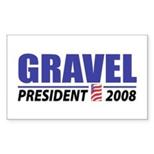 Gravel 2008 Rectangle Decal
