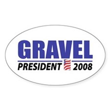 Gravel 2008 Oval Decal