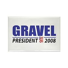 Gravel 2008 Rectangle Magnet
