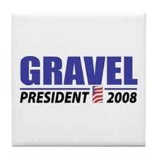 Gravel 2008 Tile Coaster