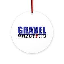 Gravel 2008 Ornament (Round)