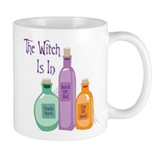 The Witch Is In Mugs