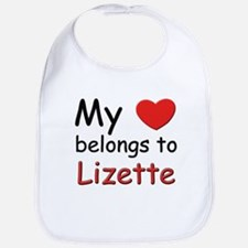 My heart belongs to lizette Bib