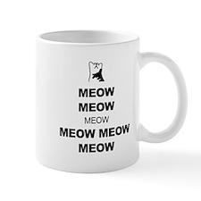 Keep Calm (Cat Meow) Mug