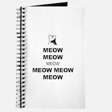Keep Calm (Cat Meow) Journal