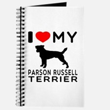 I Love My Parson Russell Terrier Journal