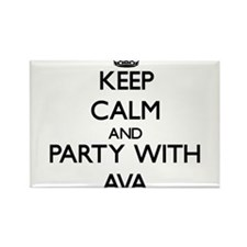 Keep Calm and Party with Ava Magnets