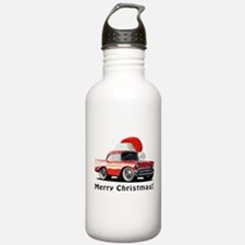 BabyAmericanMuscleCar_57BA_Xmas Water Bottle