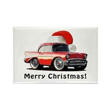 BabyAmericanMuscleCar_57BA_Xmas Magnets