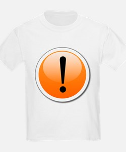 Exclamation Point Button T-Shirt