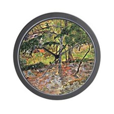 Gauguin - Tropical Landscape, Martiniqu Wall Clock