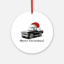 BabyAmericanMuscleCar_63_Nov_Xmas_Black Ornament (