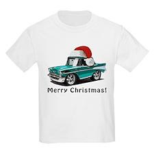 BabyAmericanMuscleCar_57BelR_Xmas_Green T-Shirt