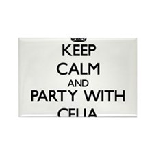Keep Calm and Party with Celia Magnets