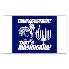Thanksgivukkah Thats Mashugana Decal