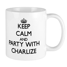 Keep Calm and Party with Charlize Mugs