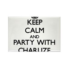 Keep Calm and Party with Charlize Magnets